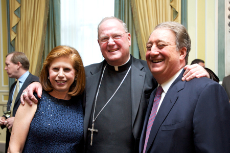 Howard Milstein Receives Humanitarian Award from Catholic Big Sisters and Big Brothers