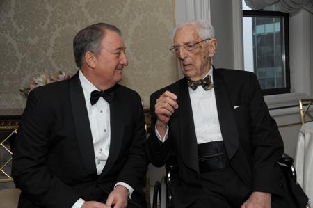 Howard Milstein and Dr. Howard Jones