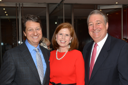 Howard and Abby Milstein Host Reception and Screening for 'Shakespeare Uncovered' Premiere'