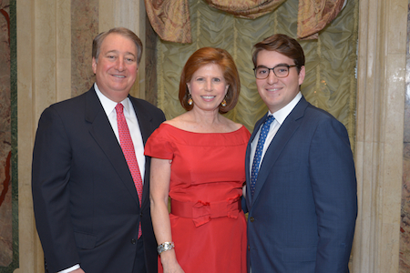 Howard, Abby, and Michael Milstein at the American Skin Association 2013 Spring gala.