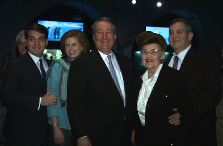 Michael, Abby, Howard, Irma, and Edward Milstein
