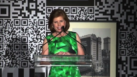 Abby Milstein speaks at the 2013 Spring Dinner for Education, introduced by New York Public Library President and CEO Anthony Marx. Remarks by Howard Milstein close the video.