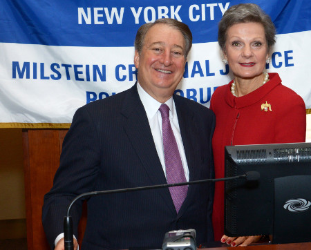 Howard Milstein and Judge Loretta Preska