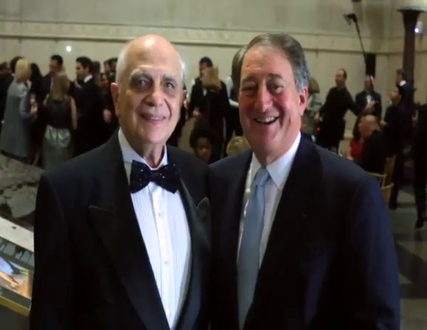Dr. Pablo Rubinstein and Howard Milstein at the 2014 Prix Galien USA Award Ceremony