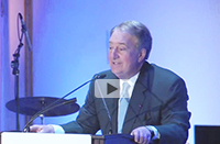 Howard Milstein speaks at the American Skin Association Spring Gala.