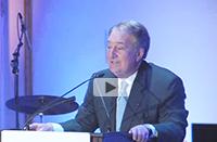 Howard Milstein speaks at the American Skin Association Spring Gala.