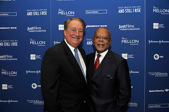 Howard P. Milstein, Henry Louis Gates Jr.
