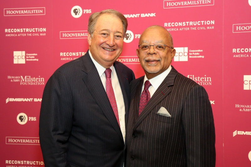 Howard Milstein and Henry Louis 'Skip' Gates, Jr.