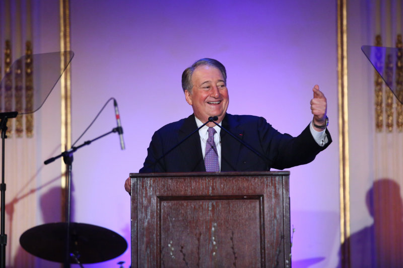 Howard P. Milstein, Chairman of American Skin Association