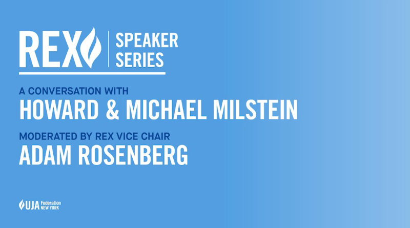 Howard and Michael Milstein featured speakers at UJA Event